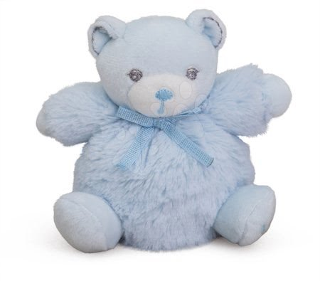 Plyšový medvídek Perle-Mini Chubbies Bear Kaloo 12 cm pro nejmenší modrý