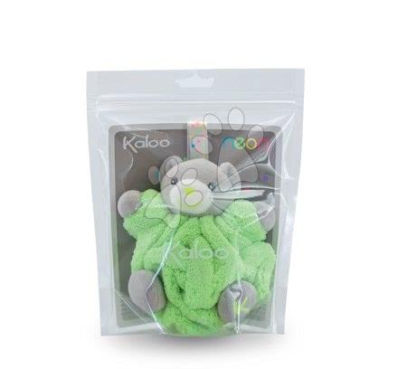 Plüssmacik - Plüss mackó Plume-Mini Neon Kaloo 12 cm zöld legkisebbeknek_1