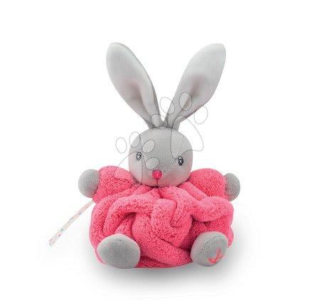 Kaloo - Plyšový králíček Plume-Mini Neon Kaloo 12 cm pro nejmenší růžový