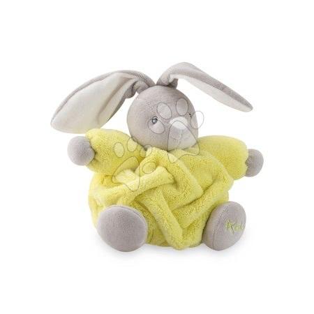 Plišani zečić Chubby Neon Kaloo 18 cm u poklon-pakiranju za najmlađe žuti