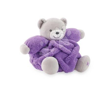 Plišani medvjed Chubby Neon Kaloo 20 cm u poklon-pakiranju za najmlađe ljubičasti