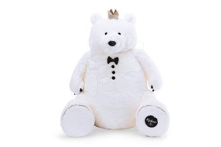 Plyšový medveď s kráľovskou korunkou Prince of Cuddles Kaloo 60 cm v darčekovej krabici od 0 mes