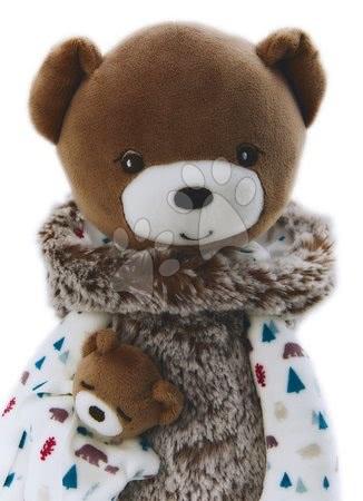 Handrové bábiky - Plyšová bábika medveď s mláďaťom Doll Bear Gaston Classique Filoo Kaloo 40 cm v darčekovej krabici od 0 mes_1
