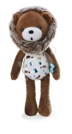 Plyšoví medvědi - Plyšová panenka medvěd Doll Bear Gaston Classique Filoo Kaloo 25 cm v dárkové krabici od 0 měsíců