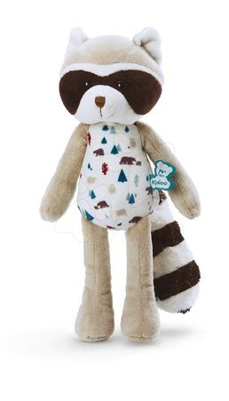 Plyšoví medvědi - Plyšová panenka medvídek mýval Doll Raccoon Leon Classique Filoo Kaloo 25 cm v dárkové krabici od 0 měsíců