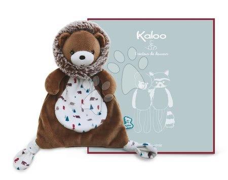 Hračky do postieľky  - Plyšový medveď na maznanie Doudou Gaston Bear Classique Filoo Kaloo 20 cm v darčekovej krabici od 0 mes_1