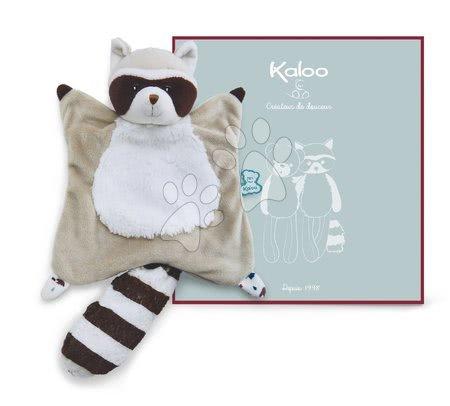 Hračky do postieľky  - Plyšový medvedík čistotný na maznanie Doudou Leon Raccoon Classique Filoo Kaloo 20 cm v darčekovej krabici od 0 mes_1
