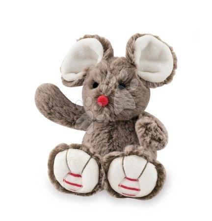 Rouge Kaloo - Plyšová myška Rouge Kaloo 19cm pro nejmenší hnědá