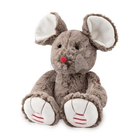 Rouge Kaloo - Plyšová myška Rouge Kaloo 31cm pro nejmenší hnědá