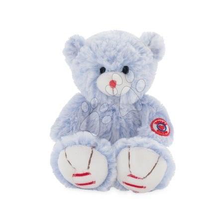 Rouge Kaloo - Plyšový medvěd Rouge Kaloo Small 19 cm z jemného plyše pro nejmenší děti modro-krémový