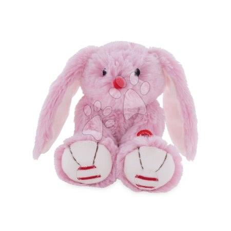 Rouge Kaloo - Plyšový zajíc Rouge Kaloo 19 cm pro nejmenší děti růžovo-krémový