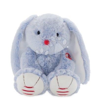 Rouge Kaloo - Plyšový zajíc Rouge Kaloo Medium 31 cm z jemného plyše modro-krémový