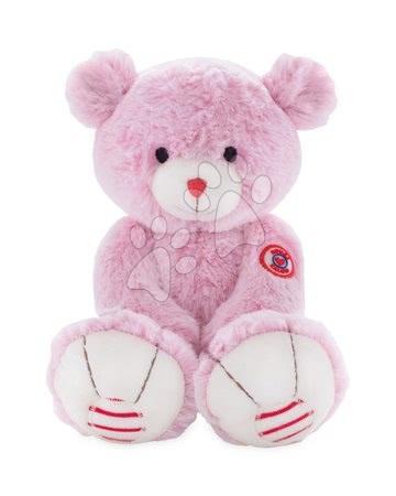 Rouge Kaloo - Plyšový medvěd Rouge Kaloo Small 13 cm z jemného plyše pro nejmenší děti růžovo-krémový