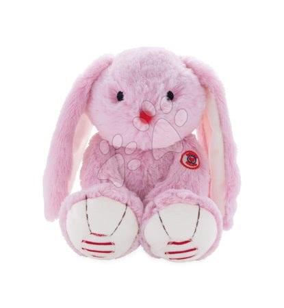Rouge Kaloo - Plyšový zajíc Rouge Kaloo Small 13 cm z jemného plyše pro nejmenší děti růžovo-krémový