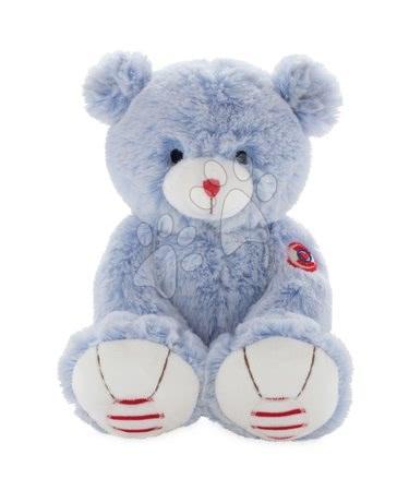 Rouge Kaloo - Plyšový medvěd Rouge Kaloo Small 13 cm z jemného plyše pro nejmenší děti modro-krémový
