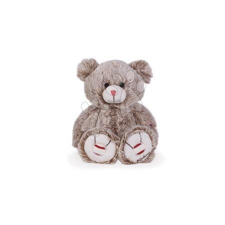 Plyšový medvěd Rouge Kaloo s výšivkou pro nejmenší děti 22 cm béžový od 0 měsíců