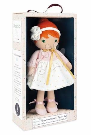 Handrové bábiky - Bábika pre bábätká Valentine K Doll Tendresse Kaloo 32 cm vo hviezdičkových šatách z jemného textilu v darčekovom balení od 0 mes_1