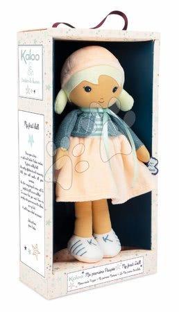 Handrové bábiky - Bábika pre bábätká Chloe K Doll Tendresse Kaloo 32 cm v riflovom kabátiku z jemného textilu v darčekovom balení od 0 mes_1