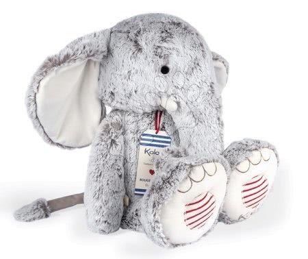 Kaloo - Plyšový slon Noa Elephant Grey XL Rouge Kaloo šedý 55 cm z jemného materiálu pro nejmenší od 0 měsíců_1