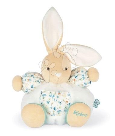 Kaloo - Plyšový zajíc do postýlky Justin Chubby Rabbit Fripons Kaloo z jemného materiálu 25 cm v dárkovém balení od 0 měsíců