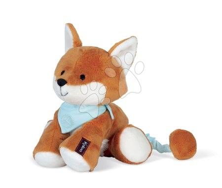 Kaloo - Plyšová líška s hudbou Paprika Music Fox Les Amis Kaloo hrdzavá 25 cm z jemného materiálu od 0 mes