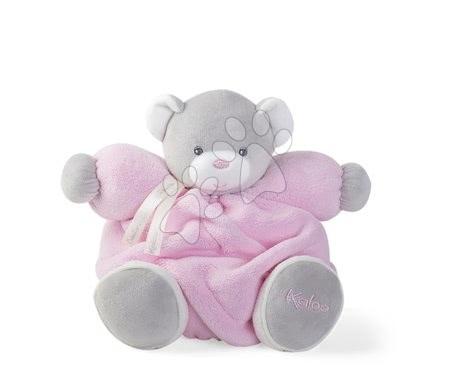Plyšoví medvědi - Plyšový medvídek Plume Chubby Kaloo 25 cm v dárkovém balení pro nejmenší růžový od 0 měsíců
