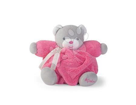Plyšoví medvědi - Plyšový medvídek Plume Chubby Kaloo růžový 18 cm v dárkovém balení pro nejmenší od 0 měsíců