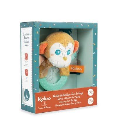 Chrastítka a kousátka - Kousátko s chrastítkem Opice Sam Jungle Kaloo pro nejmenší od 0 měsíců_1