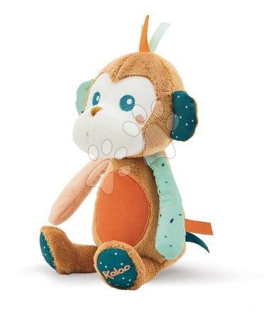 Hračky do postieľky  - Vibrujúca aktívna plyšová Opica Sam Kaloo pre najmenších od 0 mes