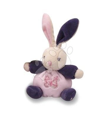 Plyšový zajačik Petite Rose-Mini Chubbies Kaloo 12 cm v darčekovom balení pre najmenších