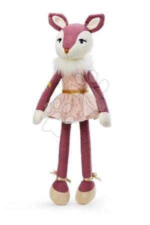 Hadrové panenky - Plyšová panenka jelínek Ava Deer Les Kalines Kaloo 46 cm v dárkové krabici od 12 měsíců