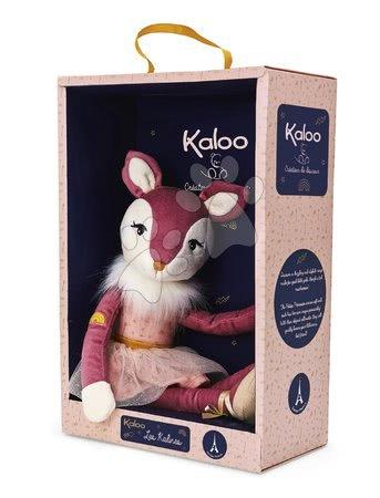 Handrové bábiky - Plyšová bábika jelenček Ava Deer Les Kalines Kaloo 46 cm v darčekovej krabici od 12 mes_1