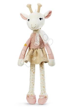 Hadrové panenky - Plyšová panenka žirafa Zarafa Giraffe Les Kalines Kaloo 46 cm v dárkové krabici