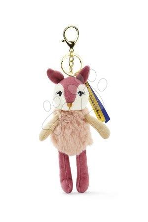 Bábiky pre dievčatá - Plyšová bábika srnka Ava Deer Les Kalines Kaloo 10 cm ako prívesok od 0 mes