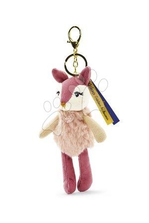 Bábiky pre dievčatá - Plyšová bábika srnka Ava Deer Les Kalines Kaloo 10 cm ako prívesok od 0 mes_1