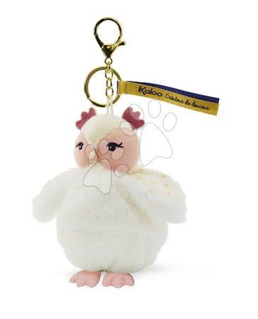 Bábiky pre dievčatá - Plyšová bábika sova Luna Owl Les Kalines Kaloo 10 cm ako prívesok od 0 mes_1