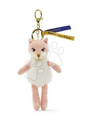 Bábiky pre dievčatá - Plyšová bábika líška Roxia Fox Les Kalines Kaloo 10 cm ako prívesok od 0 mes