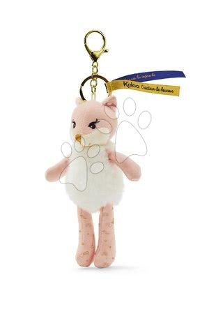 Bábiky pre dievčatá - Plyšová bábika líška Roxia Fox Les Kalines Kaloo 10 cm ako prívesok od 0 mes_1