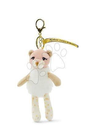 Bábiky pre dievčatá - Plyšová bábika lev Leana Lioness Les Kalines Kaloo 10 cm ako prívesok od 0 mes