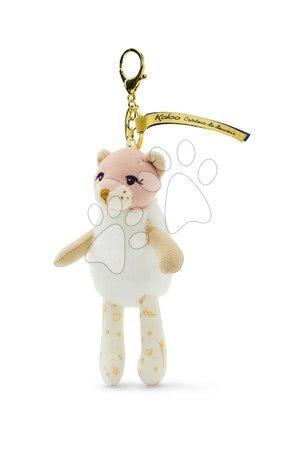 Bábiky pre dievčatá - Plyšová bábika lev Leana Lioness Les Kalines Kaloo 10 cm ako prívesok od 0 mes_1