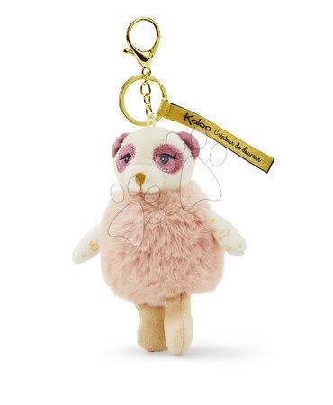 Bábiky pre dievčatá - Plyšová bábika panda Yuna Les Kalines Kaloo 10 cm ako prívesok od 0 mes