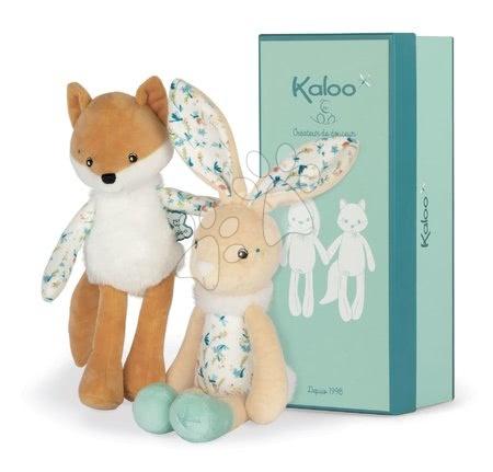 Handrové bábiky - Bábika plyšový zajac Justin Rabbit Doll Fripons Kaloo z jemného materiálu 25 cm v darčekovom balení od 0 mes_1