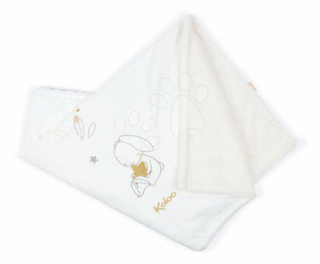 Deka pre najmenších My First Blanket Home Kaloo s výšivkou zajačik 85*70 cm z jemného mäkkého materiálu od 0 mes