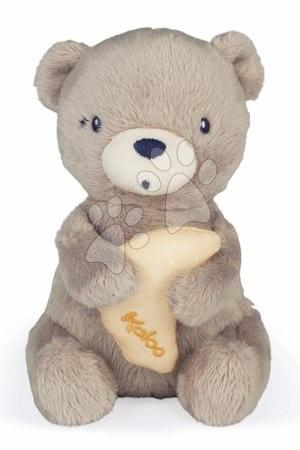 """Plyšoví medvědi - Plyšový medvěd s melodií My Musical Bear Home Kaloo hnědý 16 cm z jemného plyše a """"Brahms Lullaby"""" hudbou od 0 měsíců"""