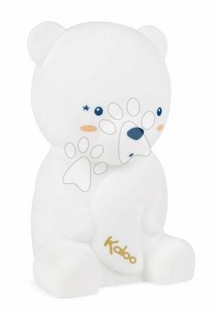 Plyšoví medvědi - Noční světlo medvěd My Soft Led Nightlight Home Kaloo jemné bílé 18 cm od 6 měsíců