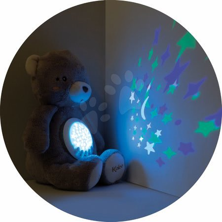 Plyšoví medvědi - Plyšový medvěd projektor My Projector Nightlight Home Kaloo hnědý 32 cm s 13 světly a 13 melodiemi z jemného plyše od 3 měsíců_1