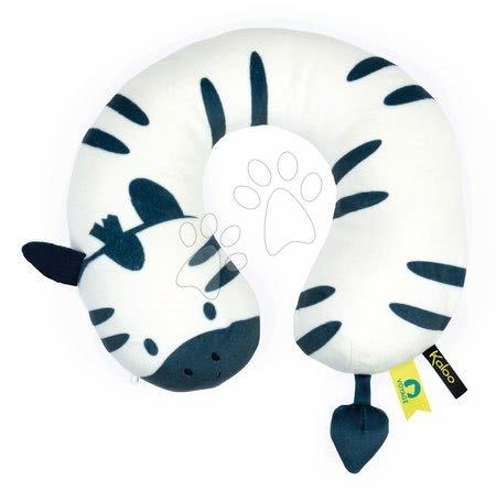 Plišaste blazine - Potovalna blazina Zebra My Head Support Cushion Home Kaloo za otroke od 6 mes