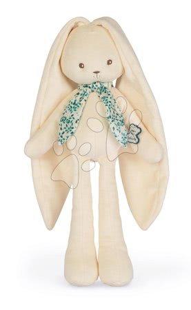 Hadrové panenky - Panenka zajíček s dlouhými oušky Doll Rabbit Cream Lapinoo Kaloo krémový 35 cm z jemného materiálu v dárkové krabičce od 0 měsíců