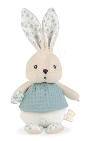 Hadrové panenky - Hadrová panenka zajíček Colombe Rabbit Doll Dove K'doux Kaloo modrá 25 cm z jemného materiálu od 0 měsíců