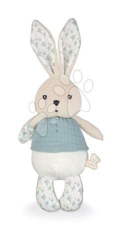 Handrové bábiky - Handrová bábika zajačik Colombe Rabbit Doll Dove K'doux Kaloo modrá 25 cm z jemného materiálu od 0 mes